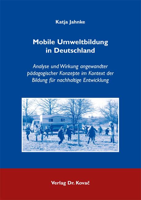 Cover: Mobile Umweltbildung in Deutschland