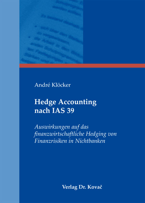 Cover: Hedge Accounting nach IAS 39