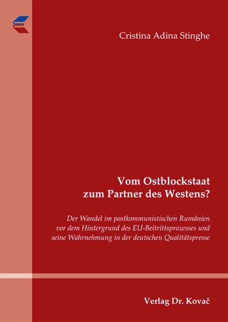 Cover: Vom Ostblockstaat zum Partner des Westens?