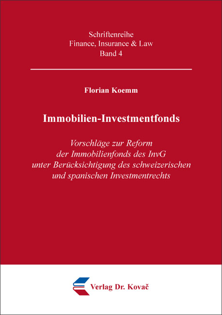 Cover: Immobilien-Investmentfonds