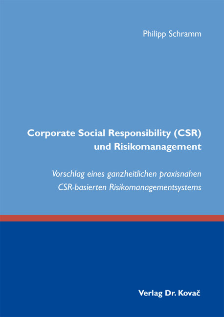 Phd thesis corporate social responsibility