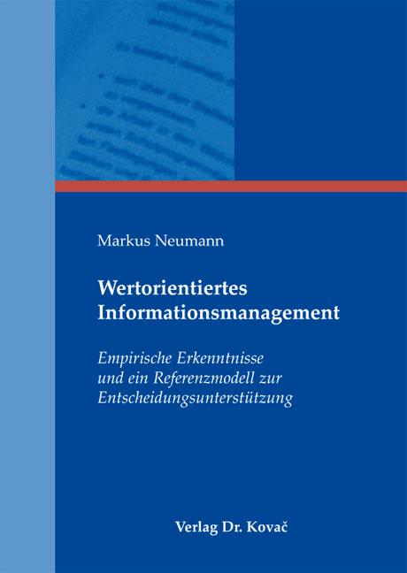 Cover: Wertorientiertes Informationsmanagement