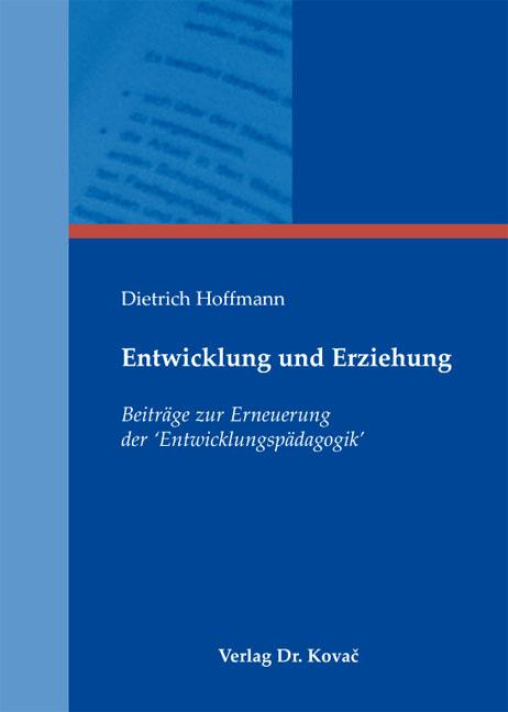Cover: Entwicklung und Erziehung