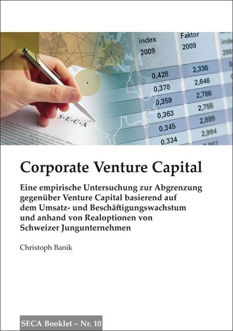 Cover: Corporate Venture Capital