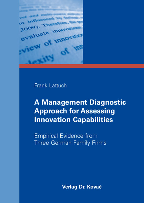 Cover: A Management Diagnostic Approach for Assessing Innovation Capabilities