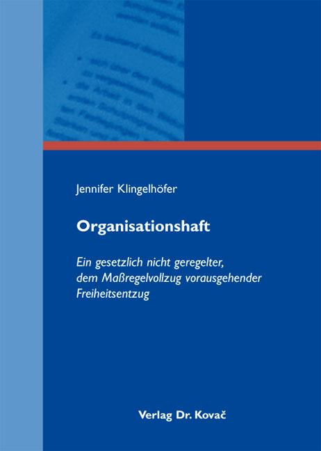 Cover: Organisationshaft