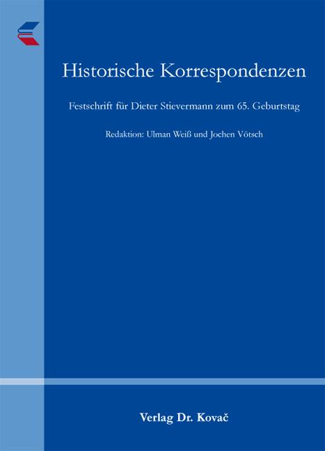 Cover: Historische Korrespondenzen