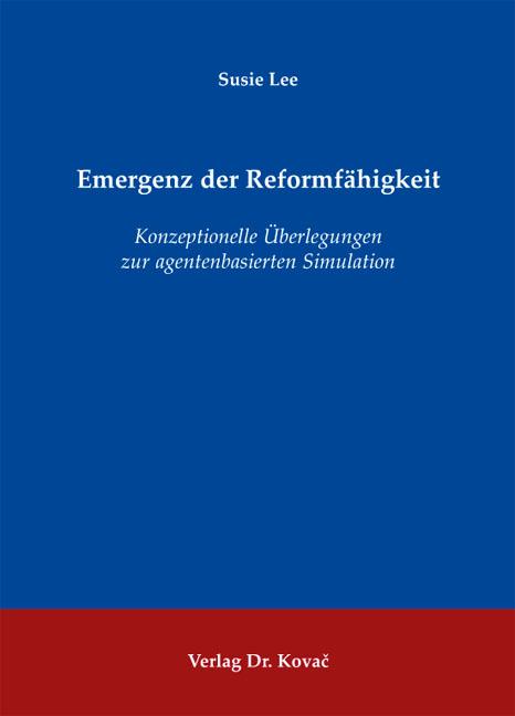 Cover: Emergenz der Reformfähigkeit