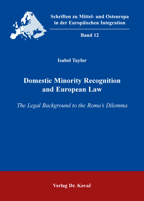 Cover: Domestic Minority Recognition and European Law