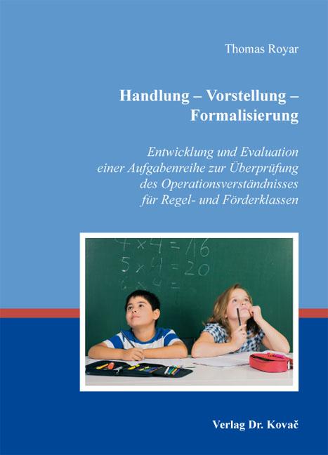 Cover: Handlung – Vorstellung – Formalisierung