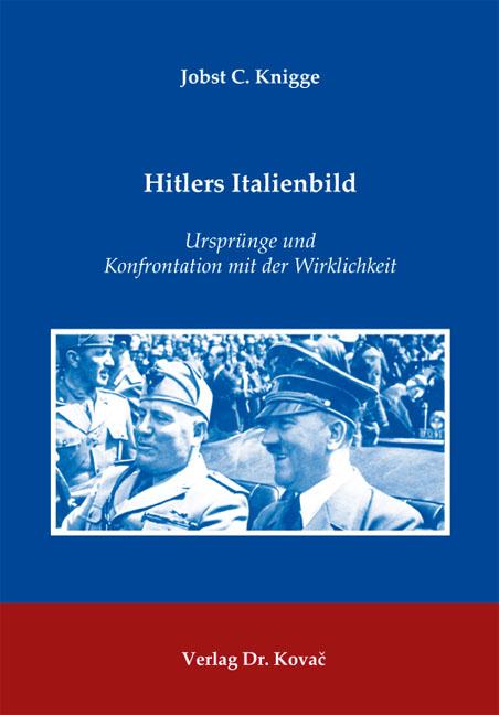 Cover: Hitlers Italienbild