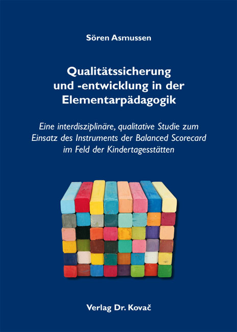 Cover: Qualitätssicherung und -entwicklung in der Elementarpädagogik