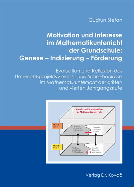 Cover: Motivation und Interesse im Mathematikunterricht der Grundschule: Genese – Indizierung – Förderung