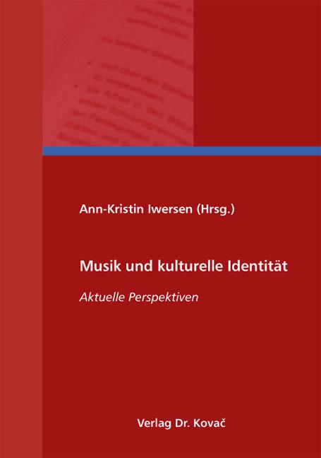 Cover: Musik und kulturelle Identität
