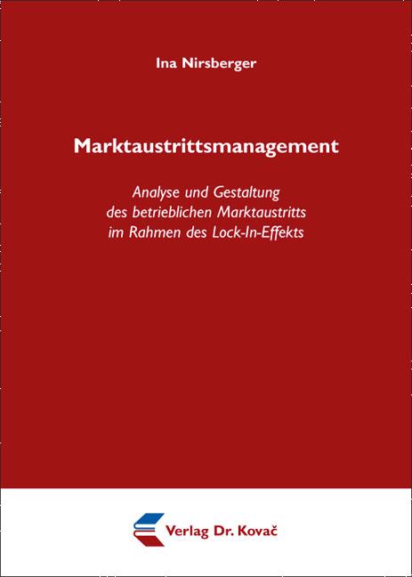 Cover: Marktaustrittsmanagement