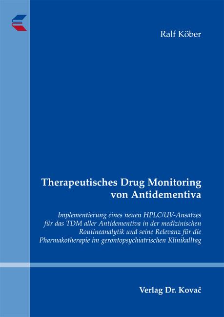 Cover: Therapeutisches Drug Monitoring von Antidementiva