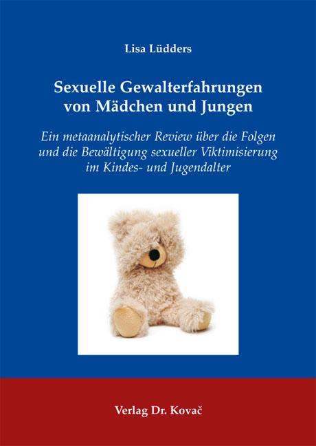 Cover: Sexuelle Gewalterfahrungen von Mädchen und Jungen