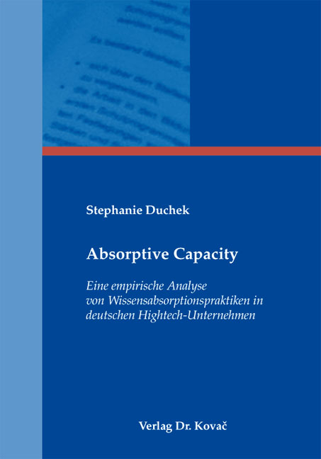Cover: Absorptive Capacity