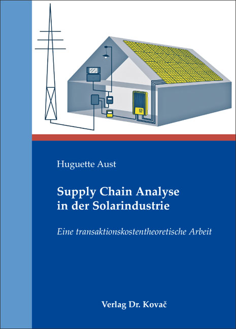 Cover: Supply Chain Analyse in der Solarindustrie