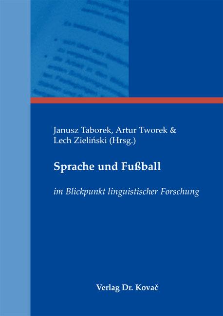 Cover: Sprache und Fußball