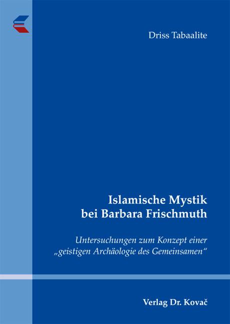 Cover: Islamische Mystik bei Barbara Frischmuth