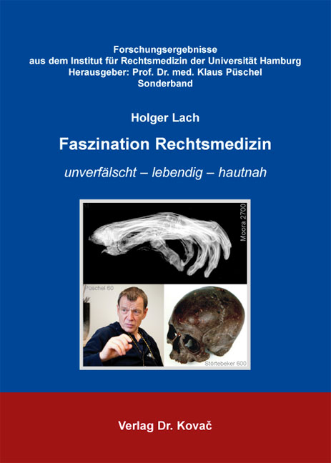 Cover: Faszination Rechtsmedizin