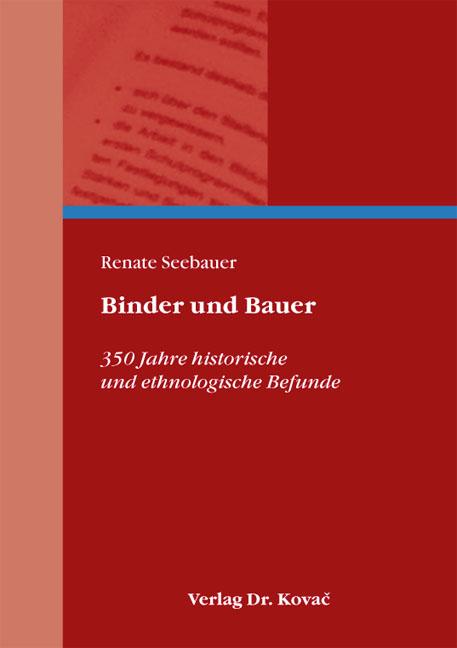 Cover: Binder und Bauer