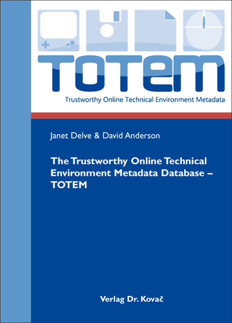 Cover: The Trustworthy Online Technical Environment Metadata Database – TOTEM