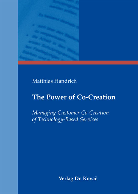 Cover: The Power of Co-Creation
