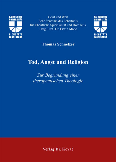 Cover: Tod, Angst und Religion