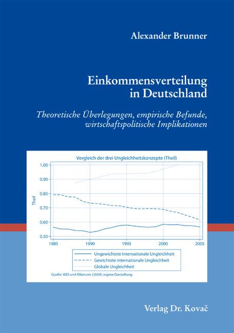 Cover: Einkommensverteilung in Deutschland