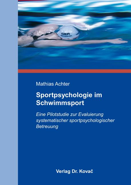 Cover: Sportpsychologie im Schwimmsport