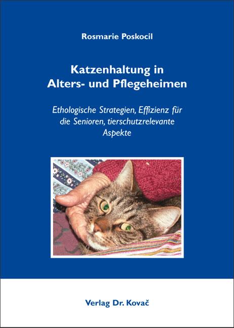 Cover: Katzenhaltung in Alters- und Pflegeheimen