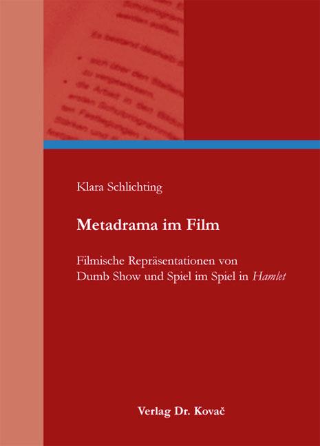 Cover: Metadrama im Film