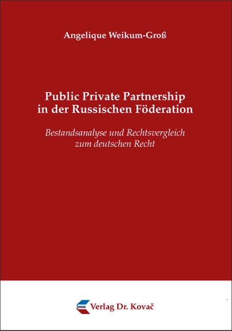 Cover: Public Private Partnership in der Russischen Föderation