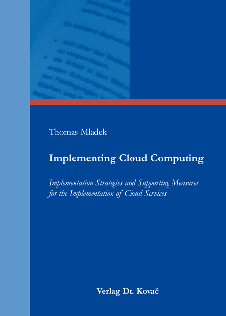 Cover: Implementing Cloud Computing