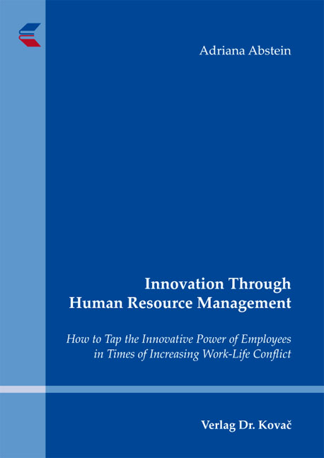 Cover: Innovation Through Human Resource Management