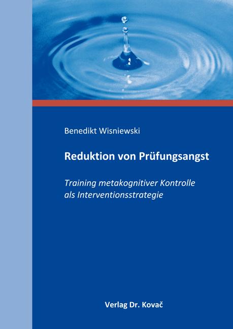 Cover: Reduktion von Prüfungsangst