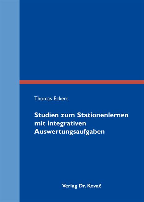 Cover: Studien zum Stationenlernen mit integrativen Auswertungsaufgaben