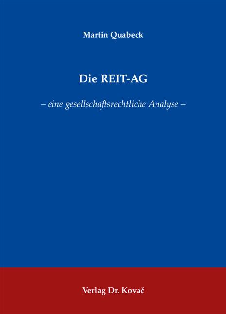 Cover: Die REIT-AG