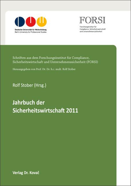 Cover: Jahrbuch der Sicherheitswirtschaft 2011