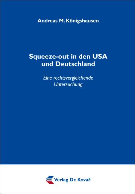 Cover: Squeeze-out in den USA und Deutschland