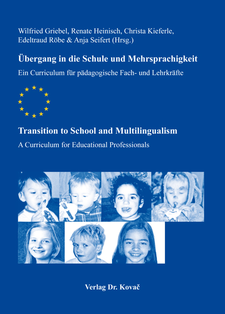 Cover: Übergang in die Schule und Mehrsprachigkeit / Transition to School and Multilingualism