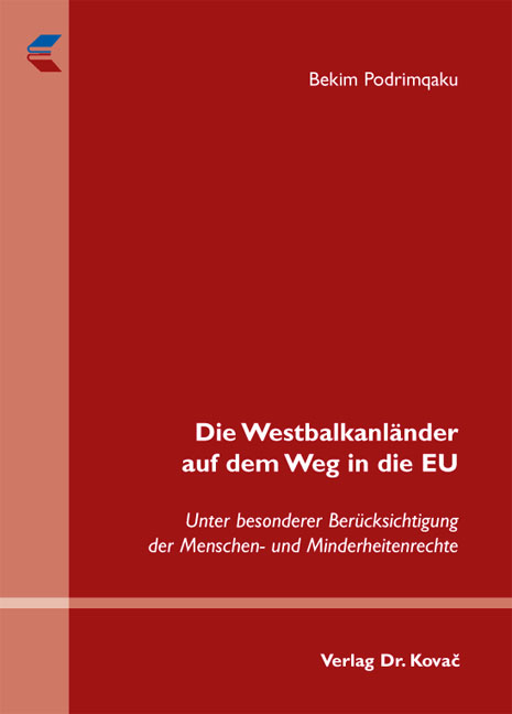 Cover: Die Westbalkanländer auf dem Weg in die EU