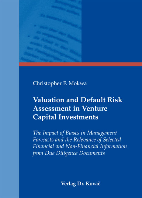 Dissertation on financial risk management