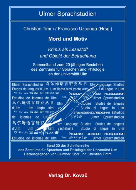 Cover: Mord und Motiv