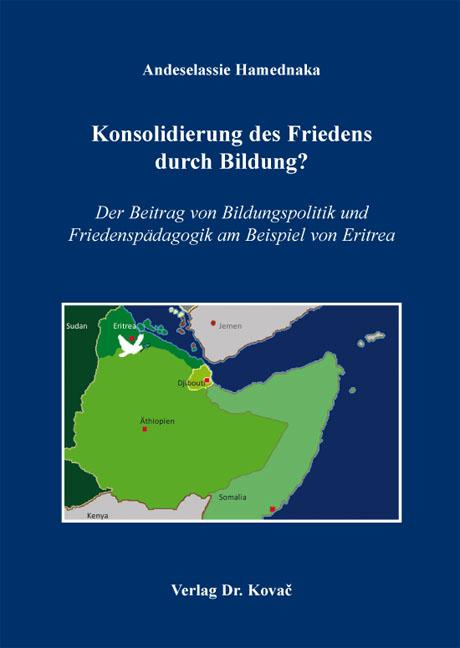 Cover: Konsolidierung des Friedens durch Bildung?