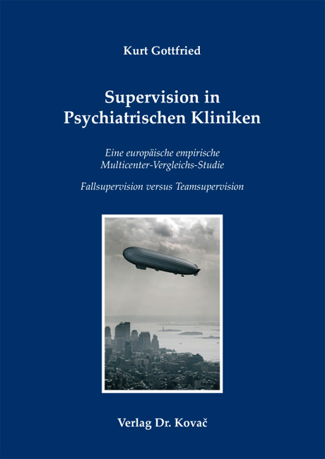 Cover: Supervision in Psychiatrischen Kliniken