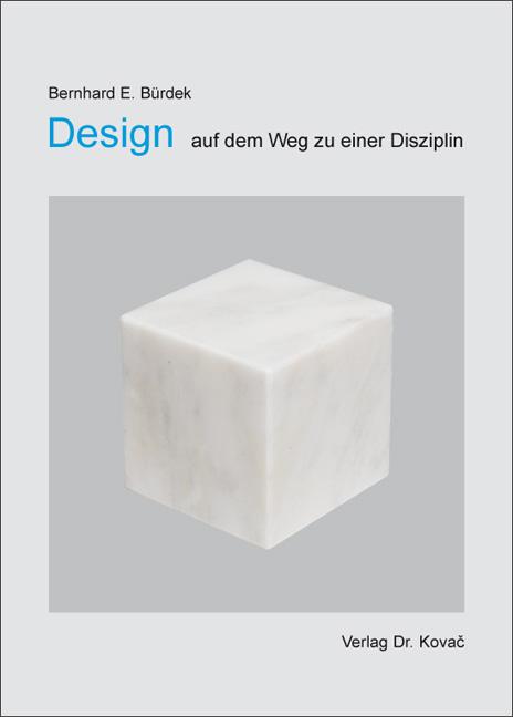 Cover: Design – auf dem Weg zu einer Disziplin