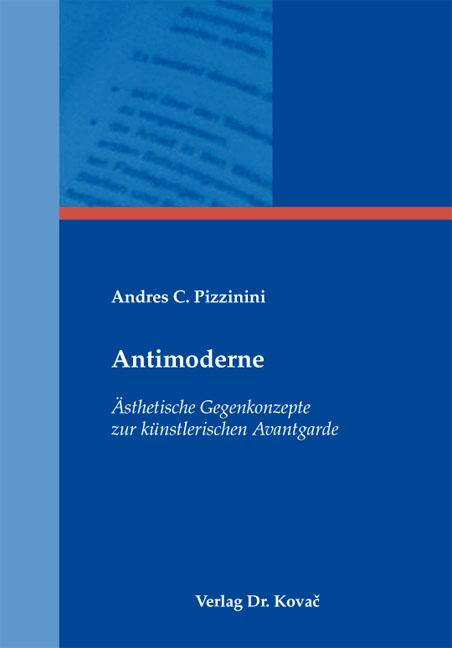 Cover: Antimoderne